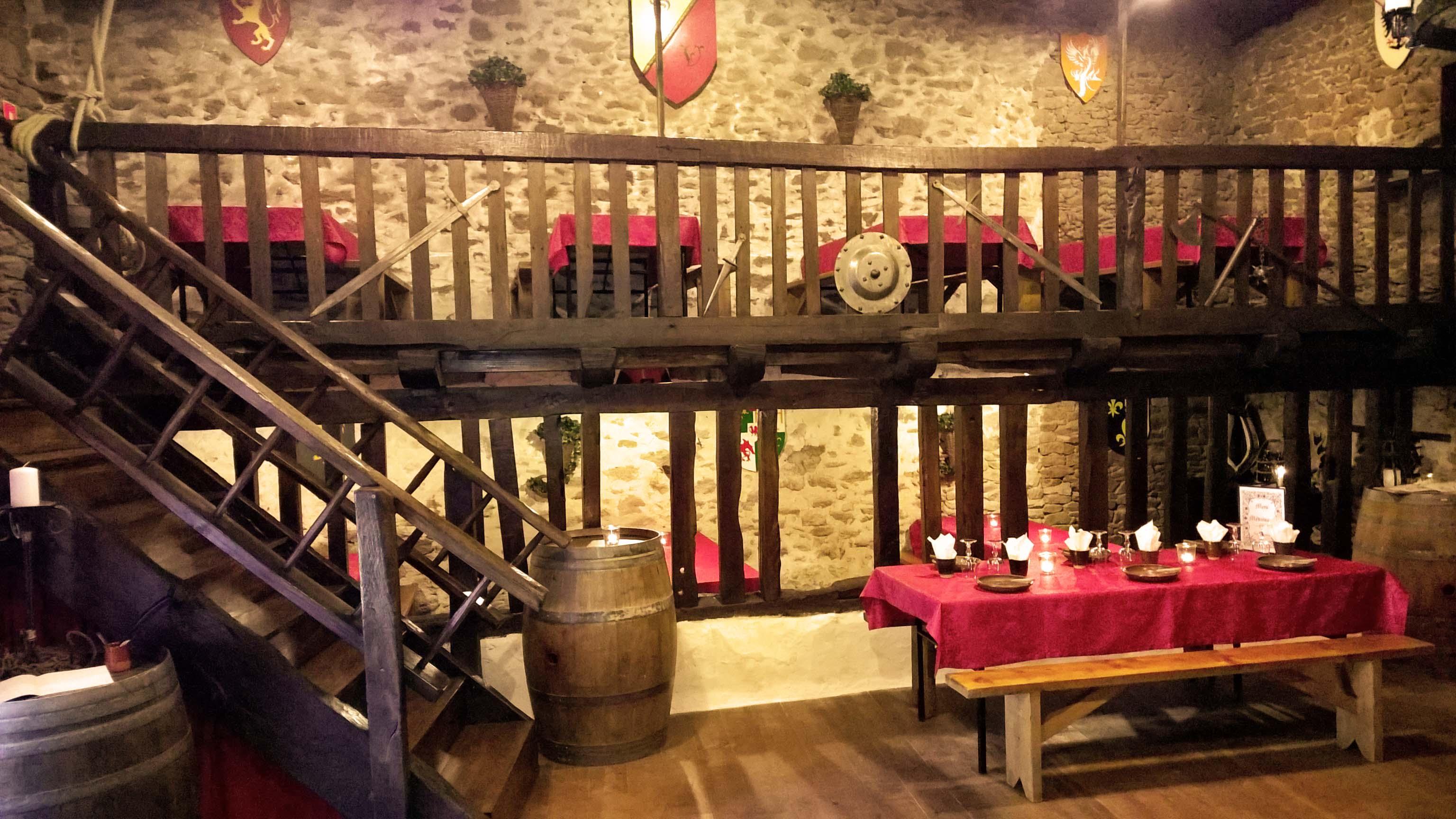 Vallicella taverne et auberge m di vale organisation de for Restaurant la cuisine limoges